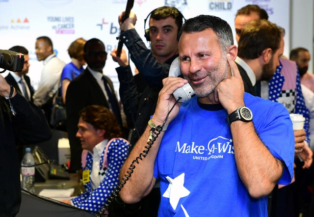 Ryan Giggs at BGC Charity Day 2018 – London