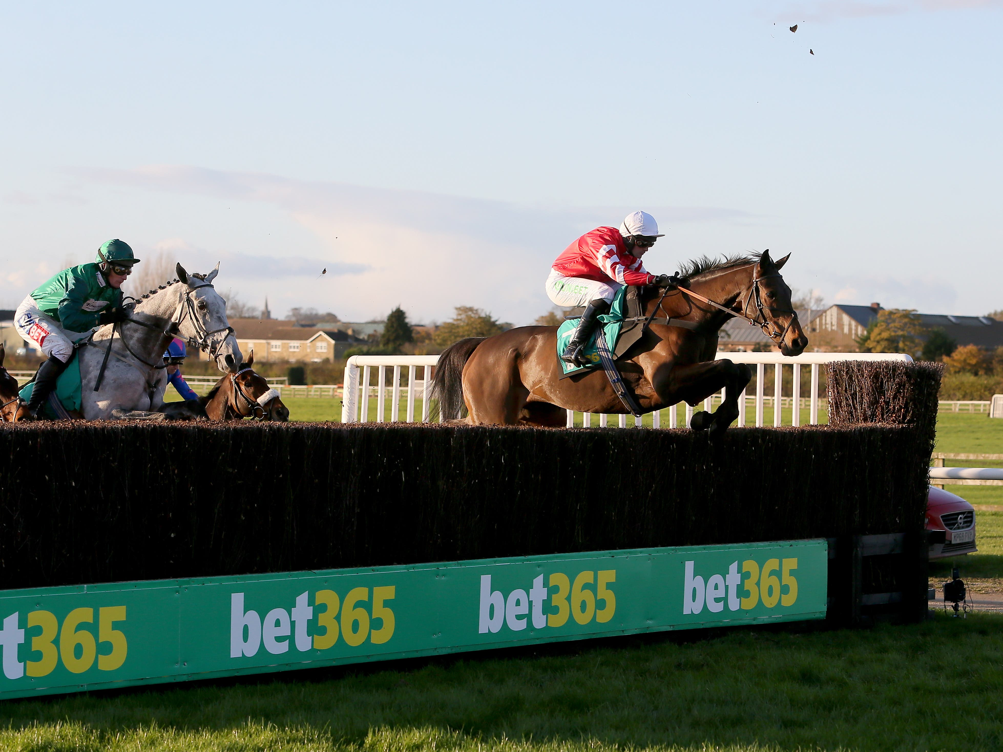 Coneygree in action at Wetherby last season where he picked up an injury (Richard Sellers/PA)