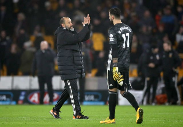 Nuno Espirito Santo bemoaned the small margins by which his side lost to Liverpool