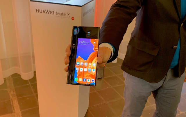 Huawei's foldable smartphone