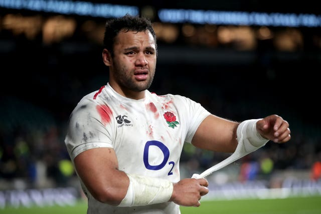 England forward Billy Vunipola