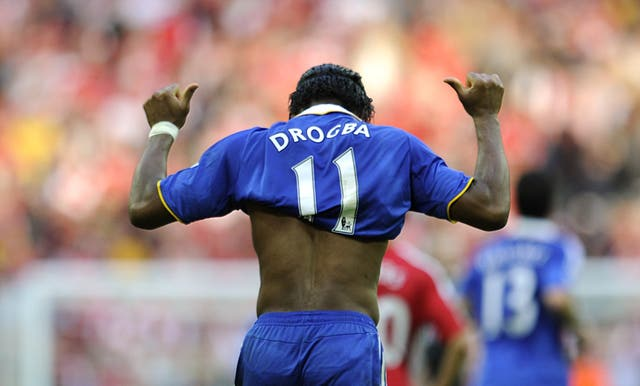 Drogba would prove the scourge of Arsenal once more - scoring the late winner in an FA Cup semi-final meeting in 2009.