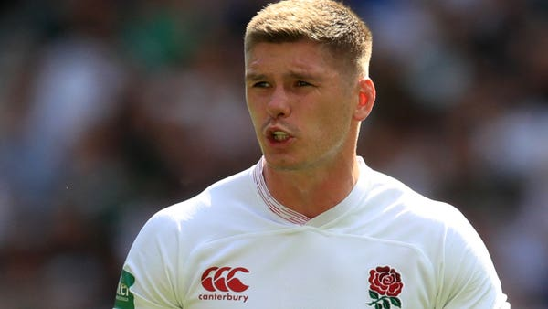 Owen Farrell working on tackling technique as World Rugby crack down on dangerous play