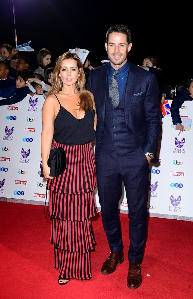 Louise and Jamie Redknapp in 2016