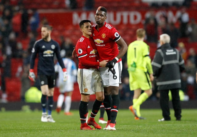 Pogba was a substitute against Huddersfield last weekend