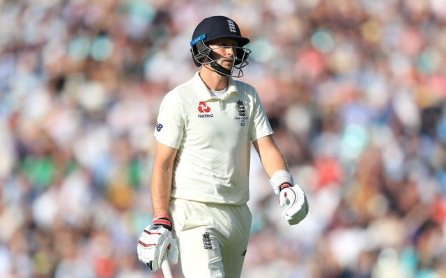 Joe Root walks off after being dismissed against Australia at the Oval
