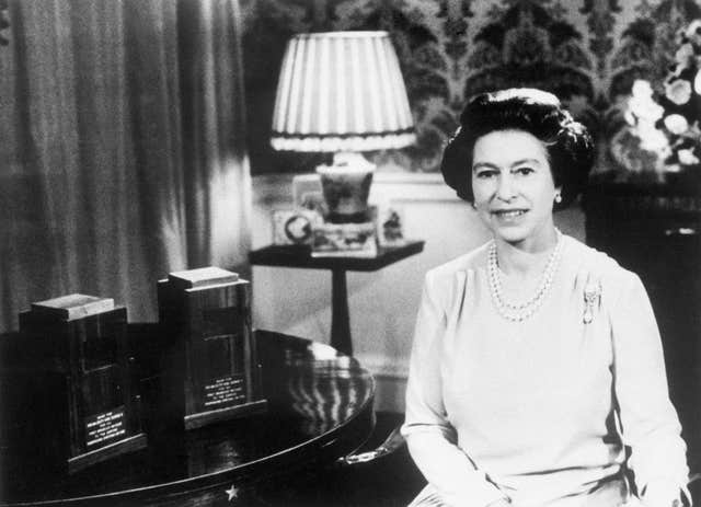 Royalty – Queen's Christmas Speech – 1978 (PA)