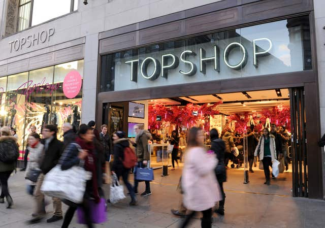 Topshop financials