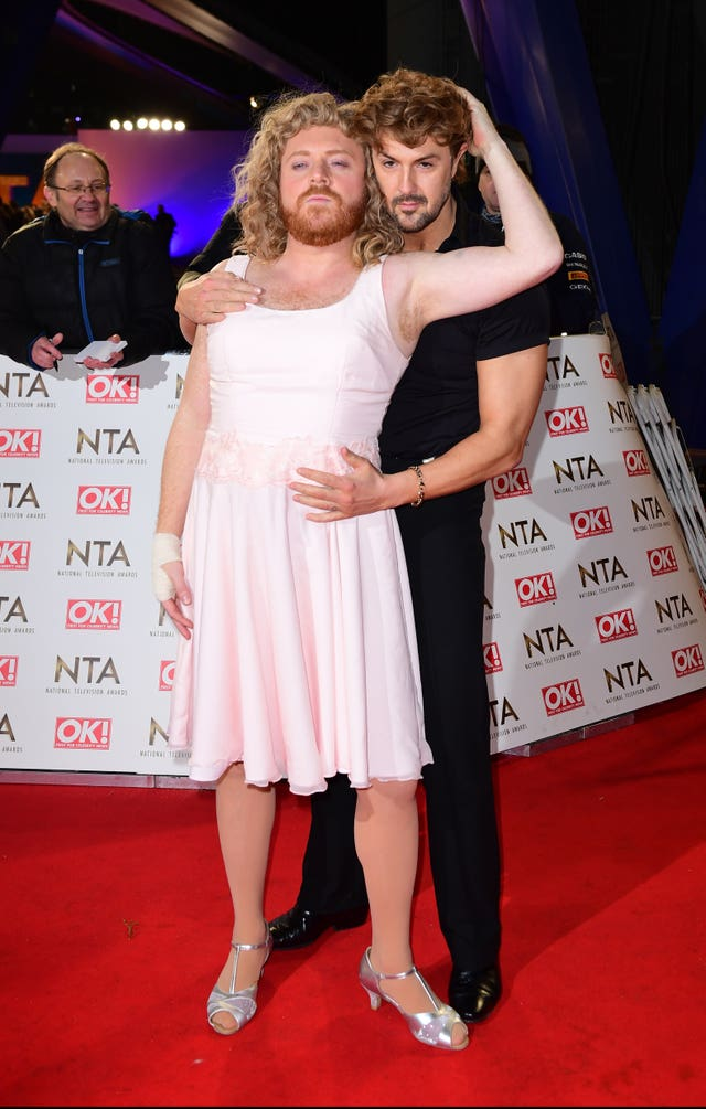 Paddy McGuinness and Leigh Francis - as Keith Lemon