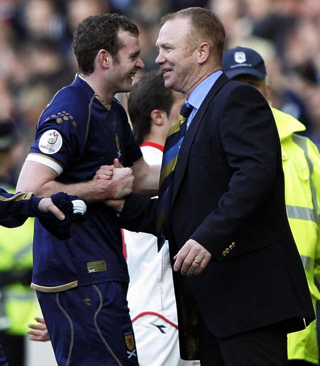 Alex McLeish had Craig Beattie to thank for an opening win