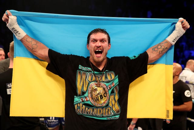 Oleksandr Usyk could meet Joshua further down the line