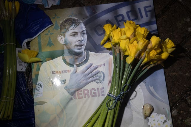 Sala never played for Cardiff