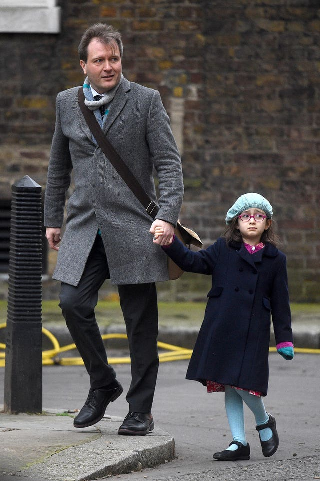 Richard Ratcliffe with his daughter Gabriella
