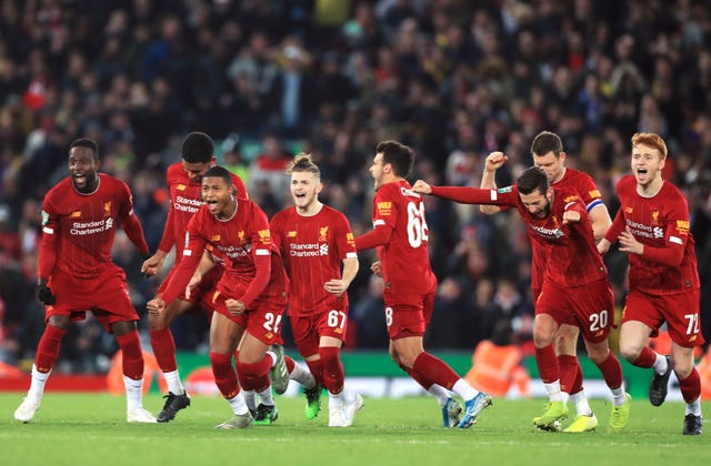 Liverpool were involved in a thrilling Carabao Cup win over Arsenal in midweek
