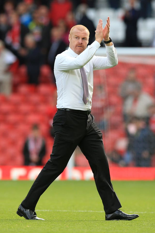 Dyche's side frustrated Liverpool at Anfield last season
