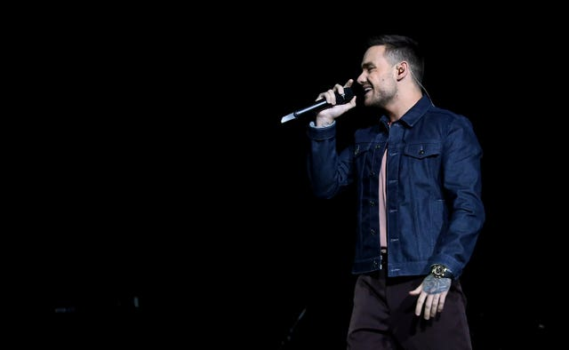 Liam Payne performs on stage during day one of Capital's Jingle Bell Ball with Seat at London's O2 Arena.
