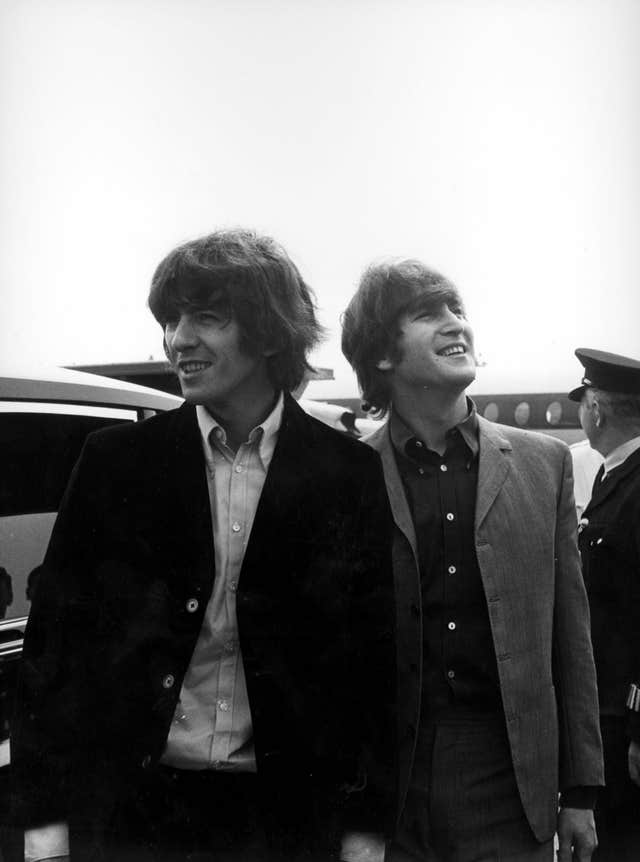 Beatles at London Airport