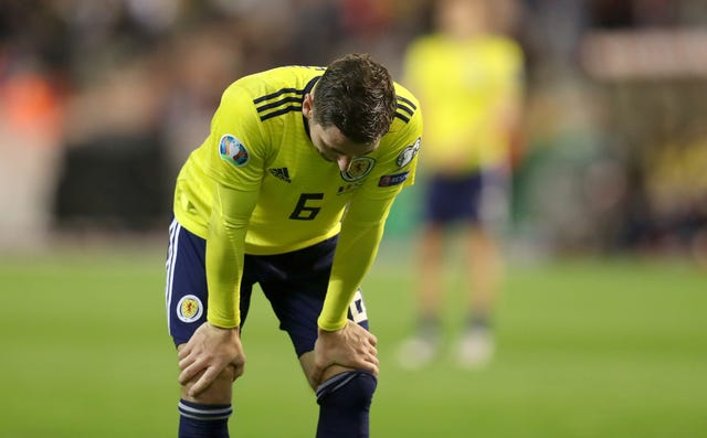 Scotland face an uphill task in qualifying