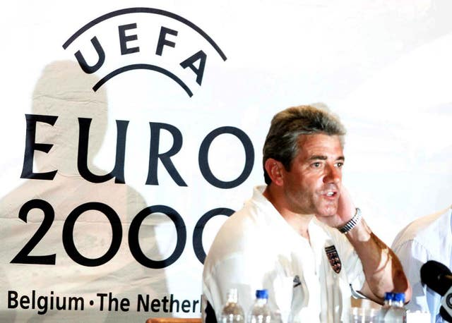 Kevin Keegan was unable to guide England through to the knock-out stage at Euro 2000