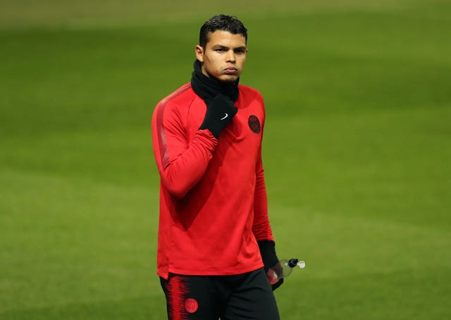 Paris Saint Germain Training Session and Press Conference – Old Trafford