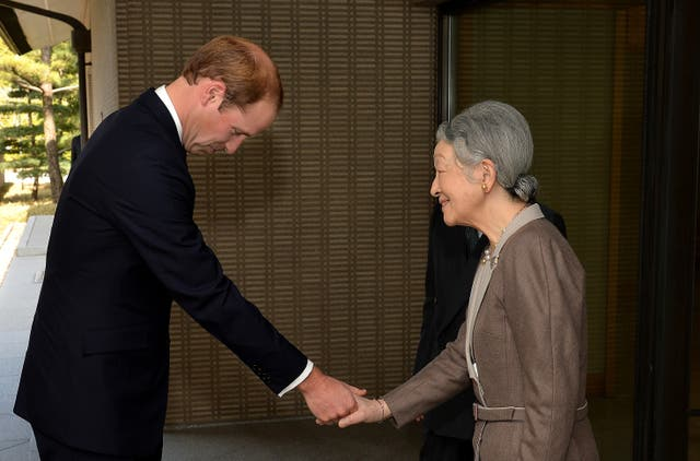 Duke of Cambridge visit to Japan – Day 2
