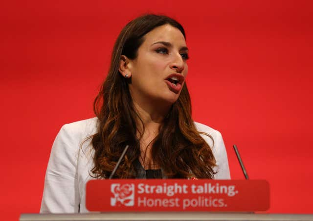 Luciana Berger is among those to have received abuse online (Gareth Fuller/PA)