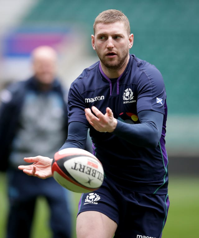 Finn Russell sat out the Scots' Six Nations campaign after a fall-out with Townsend