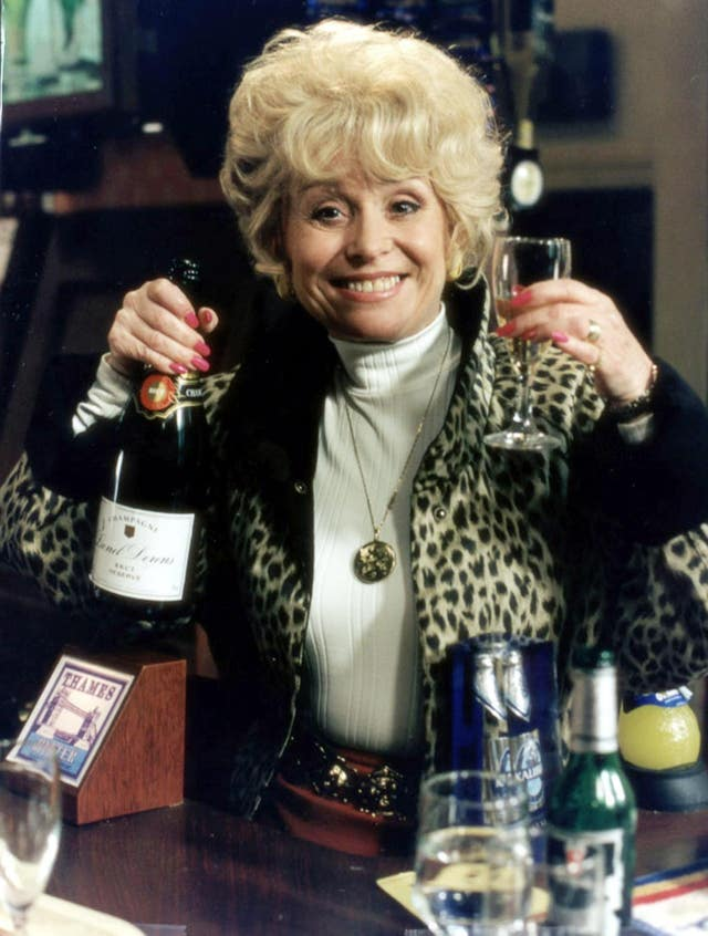 Peggy Mitchell in the Queen Vic