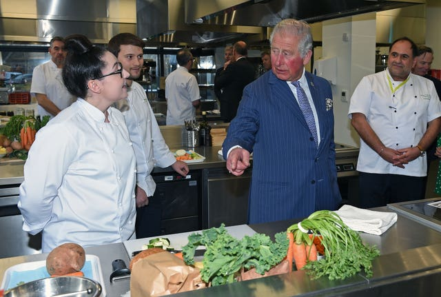 The Prince of Wales opens Waitrose & Partners' Food Innovation Studio