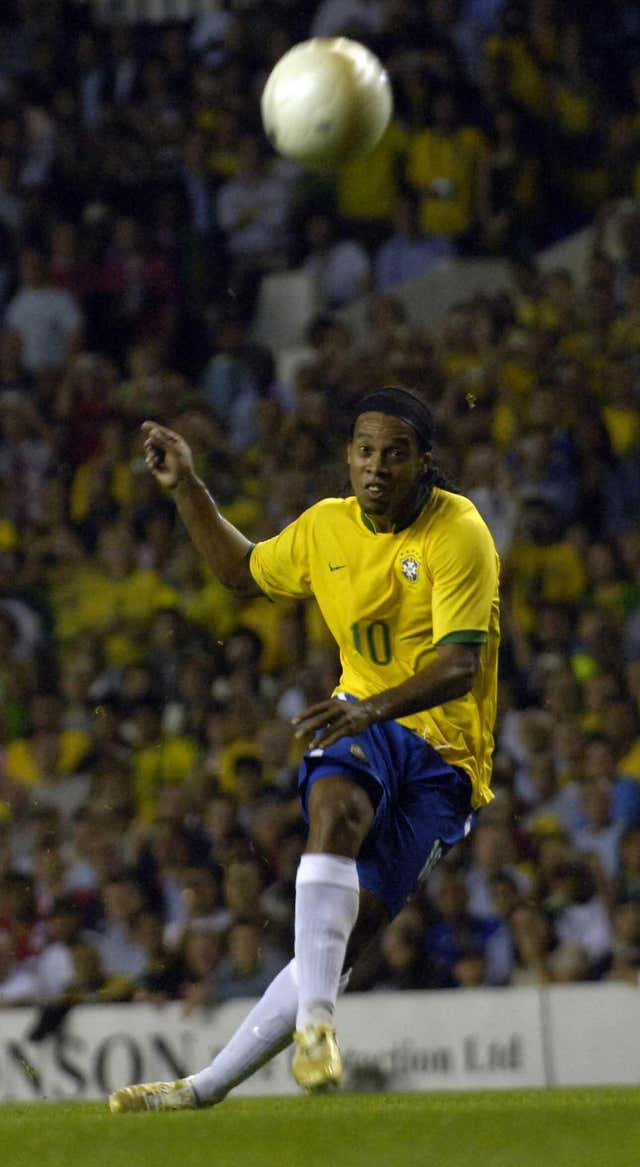 Ronaldinho helped Brazil overpower their rivals in the Confederations Cup