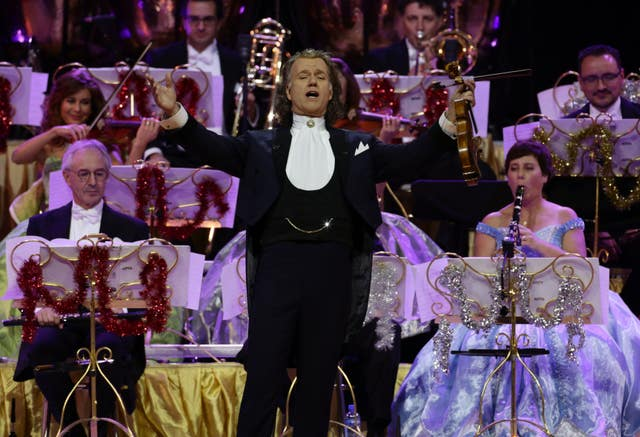 Andre Rieu performance – London
