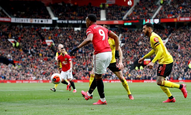 Anthony Martial has been in fine form for United lately