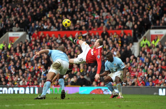 Rooney scored a derby-day stunner