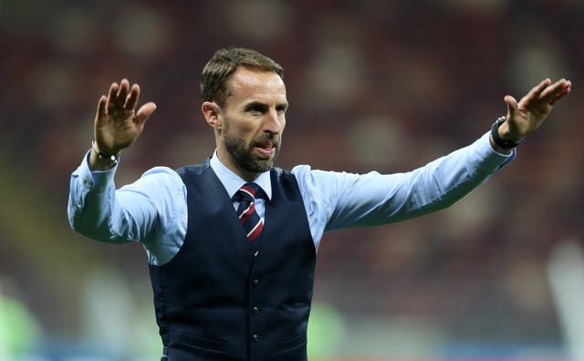 England manager Gareth Southgate acknowledged the Three Lions supporters following the loss.