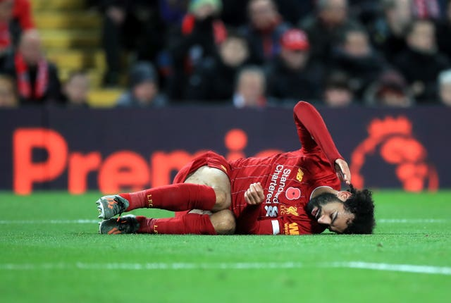 Mohamed Salah has been struggling with an ankle injury of his own