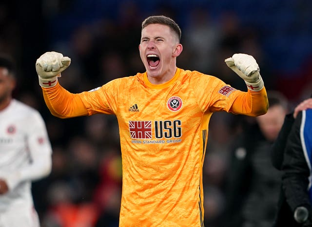 Sheffield United goalkeeper Dean Henderson has been in superb form