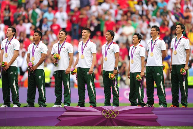 Raul Jimenez was part of the Mexico squad that won gold at the 2012 Olympics at Wembley
