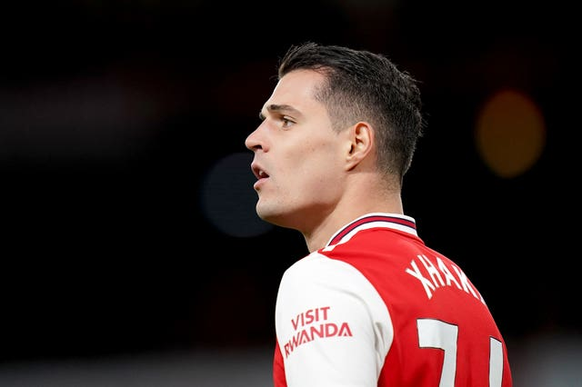 Granit Xhaka has become a key player under new Arsenal head coach Mikel Arteta