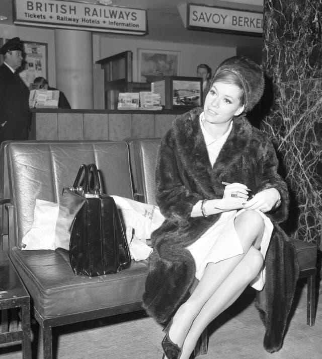 Entertainment – Actress Luciana Paluzzi – London Airport