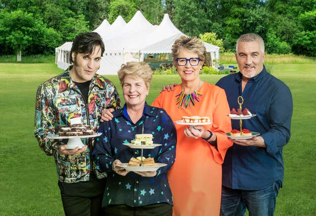 The Great British Bake Off 2018 talent