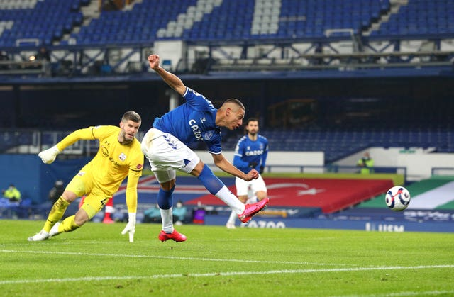 Richarlison scores Everton's opener