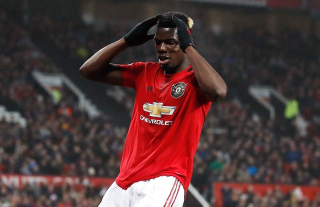 Pogba has made only eight appearances for United so far this season.
