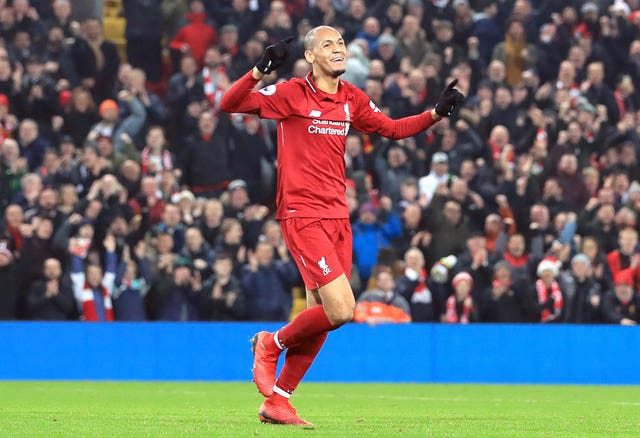 Fabinho could be competing with captain Jordan Henderson for a place in the Champions League final