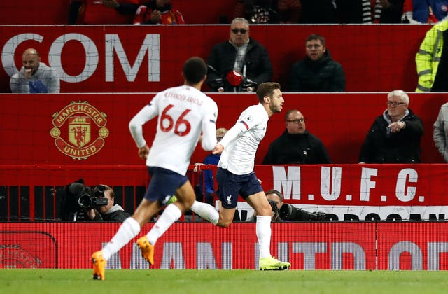 Adam Lallana's late equaliser at Manchester United safeguarded Liverpool's unbeaten start to the season