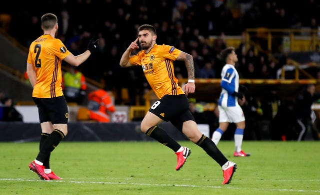 Ruben Neves scored a stunning volley