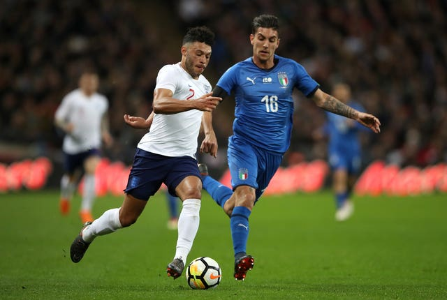 Oxlade-Chamberlain has not played for England since a friendly against Italy in March 2018.