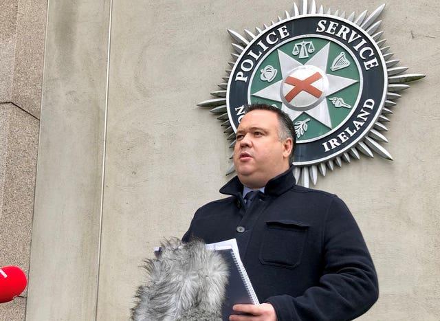 PSNI Detective Chief Inspector John Caldwell
