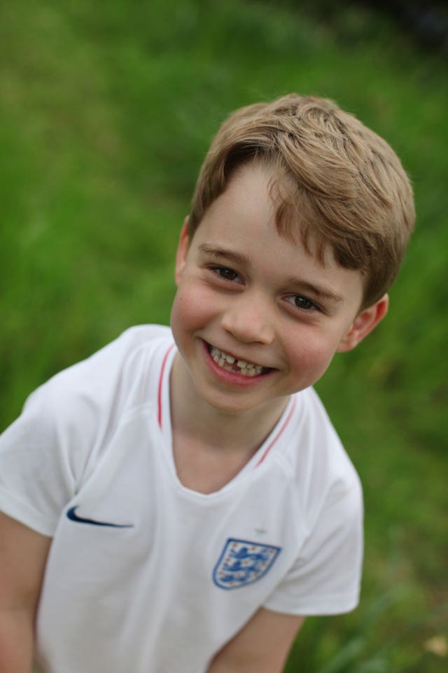 Prince George's sixth birthday