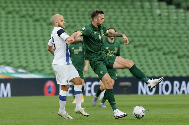 Republic of Ireland skipper Shane Duffy saw appeals for a first-half penalty waved away