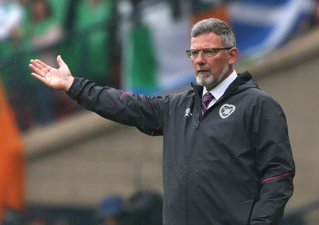 Levein's time on the Tynecastle touchline is over